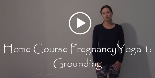 Home Course Pregancy Yoga 1 Grounding