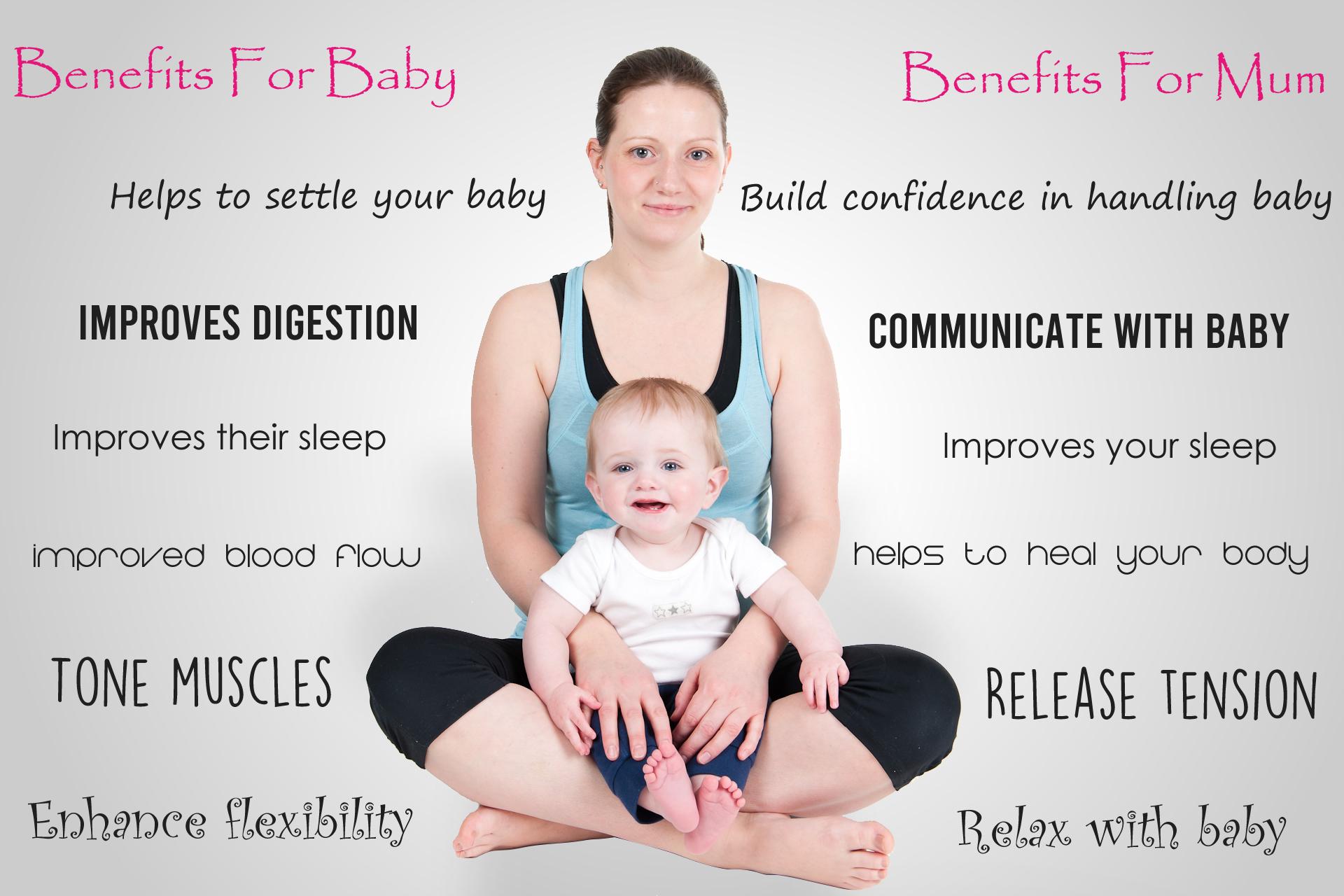 benefits of baby yoga